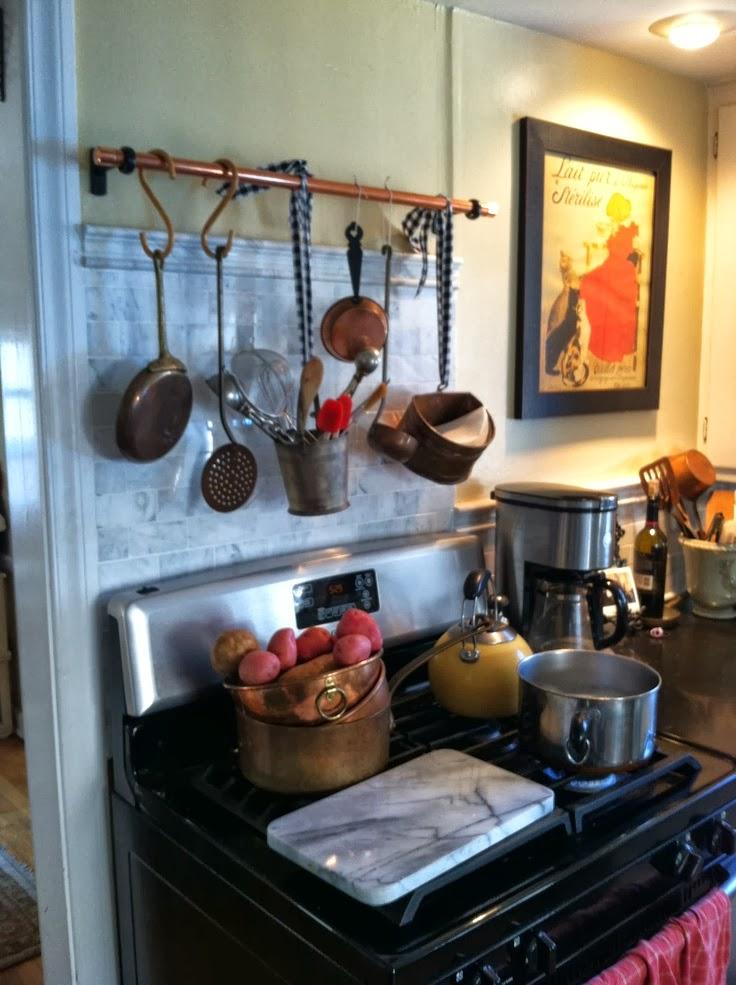 Alejandra Creatini Diy Copper Pot Rack Ideas