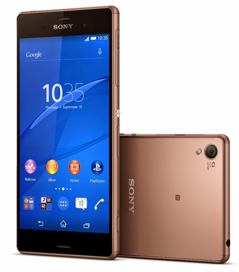 Sony launches the new Xperia Z3 and Xperia Z3 Compact flagships in
