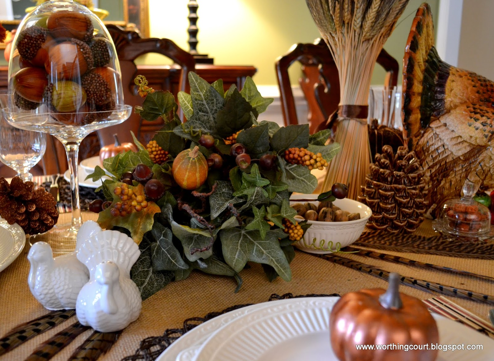Bounty Of The Harvest Thanksgiving Table Worthing Court