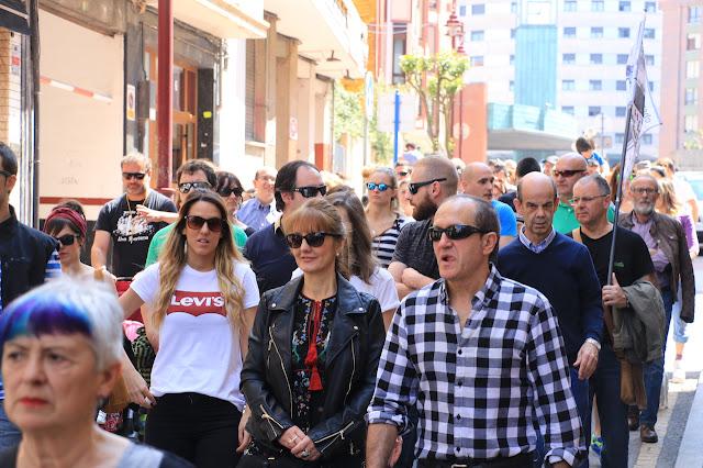 manifestación contra la VSF