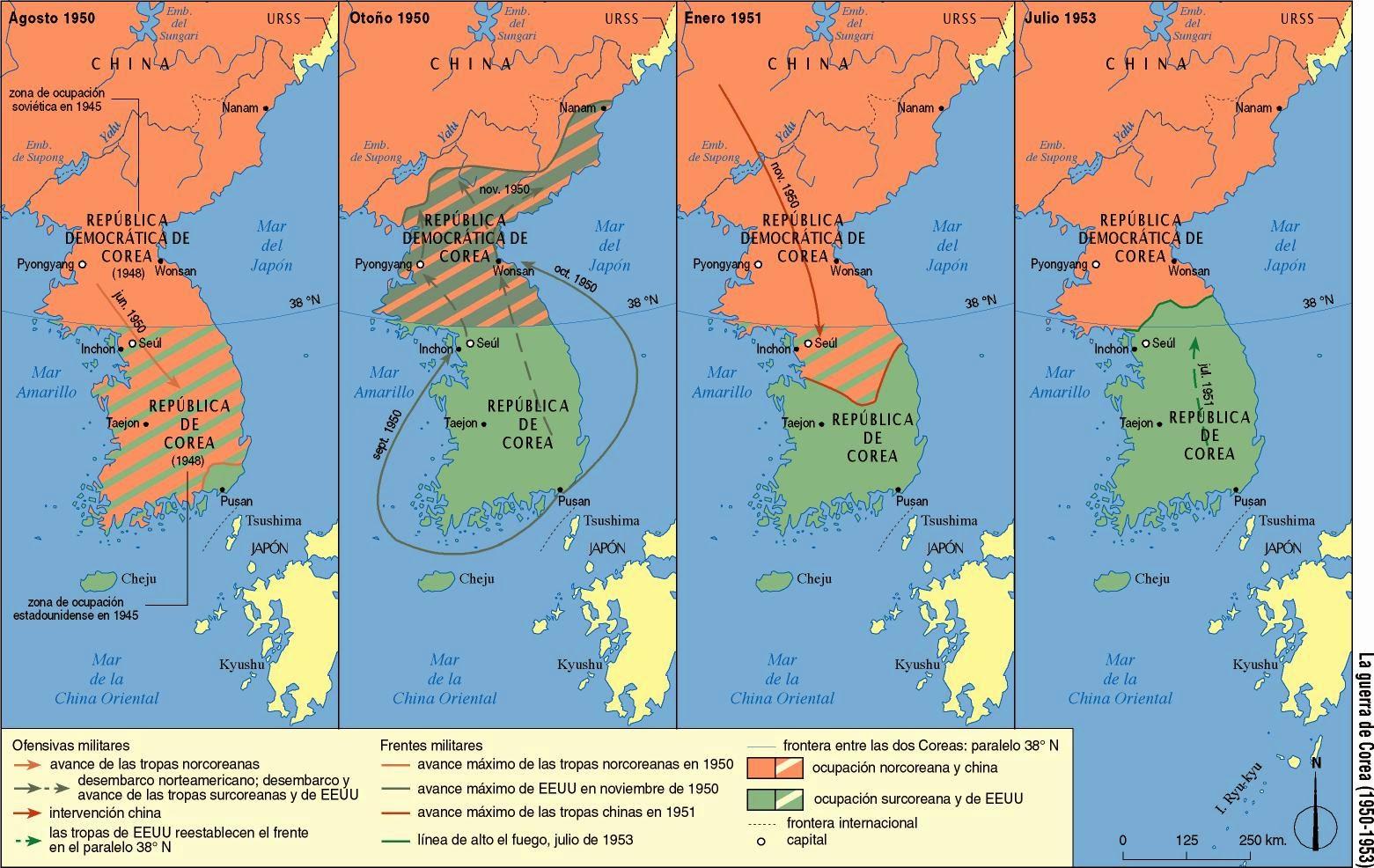 Las historias de Doncel La guerra fra El mundo dividido en