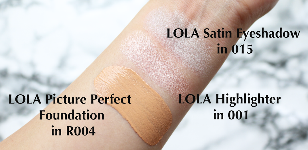LOLA Makeup by Perse: Review & Swatches