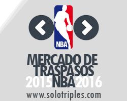 MERCADO DE FICHAJES NBA 2015-16
