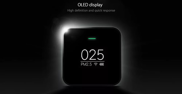 OLED Display-Energy efficient-Xiaomi Air Quality Checker