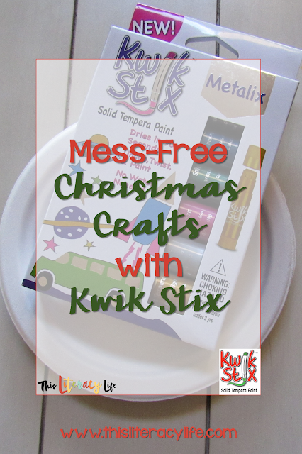 Kwik Stix are great for crafts with children. No mess and easy to use!