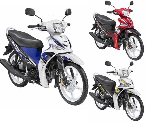 Yamaha Force FI Sporty White Force, White Shadow, dan Red Active