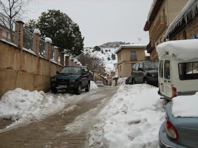 clima, Beceite, nieve, frío, nevada, está nevando, Beseit, neu, jaguar, bomberos, bomberets