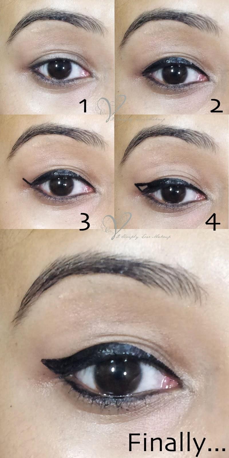 Eyeliner Tutorial: Winged Eyeliner Tutorial