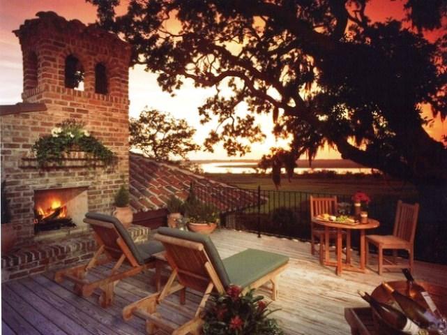 Backyard Outdoor Fireplace Plan, Outdoor Fireplace Design Ideas ...