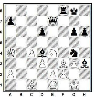 Problema ejercicio de ajedrez número 727: Mas - Travesset (Sant Andreu, 1976)