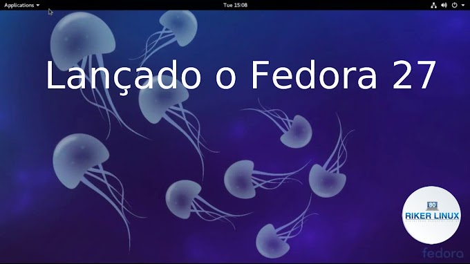 LANÇADO O FEDORA 27