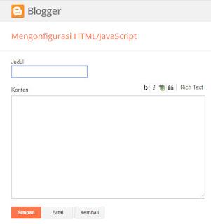 html javascript widget