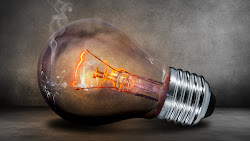 Light Bulb. Glow. Creative. Photoshop Public Domain