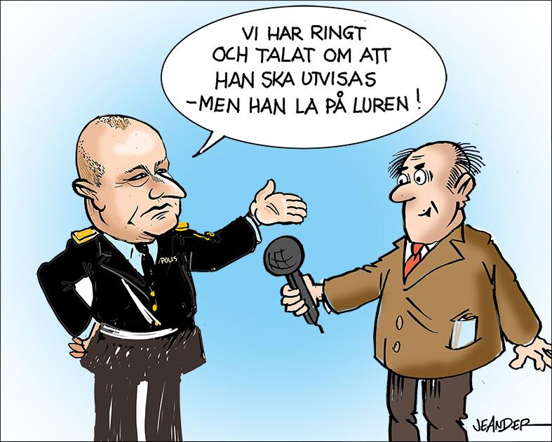 JEANDERS BILDBLOGG: Utvisning!