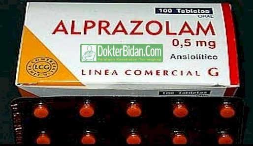 Alprazolam - Khasiat Obat Peringatan Dosis Dan Efek Sampingnya Bagi Kesehatan Pria Wanita