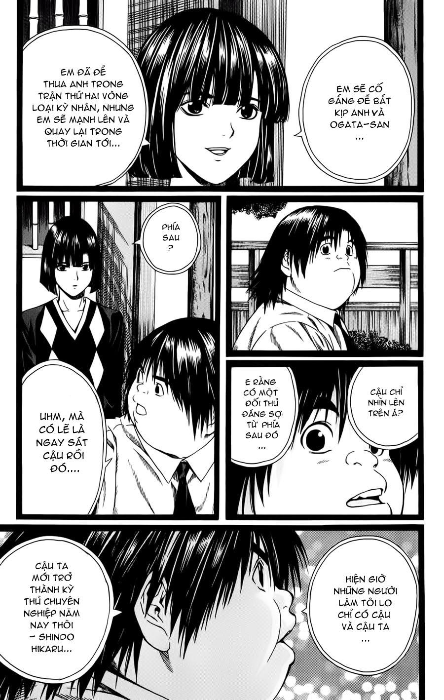 Hikaru No Go hikaru no go chap 121 trang 15