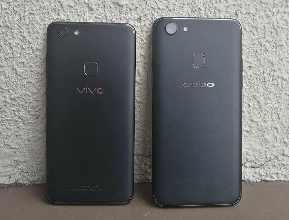 Vivo V7 Versus OPPO F5:  Mid Range Challengers