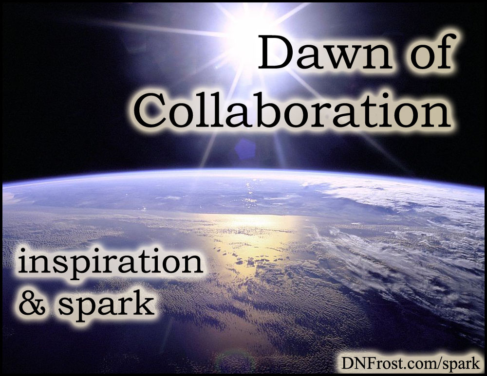 Dawn of Collaboration: how gaming changed my life http://www.dnfrost.com/2016/01/dawn-of-collaboration-inspiration-spark.html #TotKW Inspiration and spark by D.N.Frost @DNFrost13 Part 2 of a series.