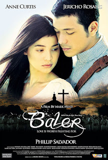 Baler is a 2008 drama film and the official entry of VIVA Films in the 2008 Metro Manila Film Festival, starring Anne Curtis and Jericho Rosales.