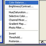 Как создать слой Color Balance в Фотошопе