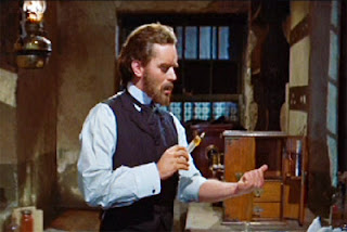Paul Massie as the reclusive Dr. Jekyll