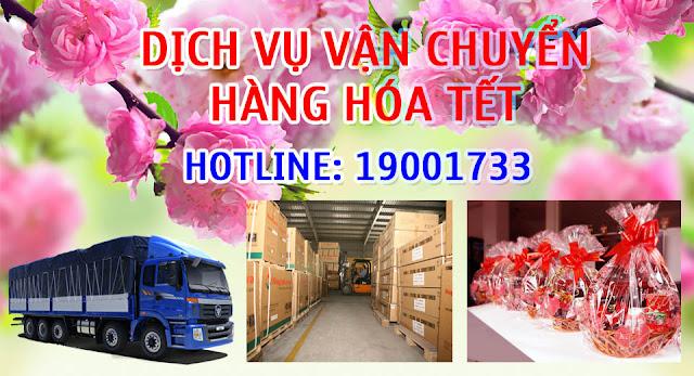 Dịch vụ vận chuyển hàng tết toàn quốc nhanh rẻ