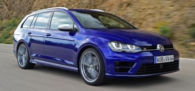 Volkswagen Golf R Estate 2016 Image
