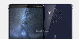 Nokia 9 Pureview : HMD Global is missing its top model 5 main cameras