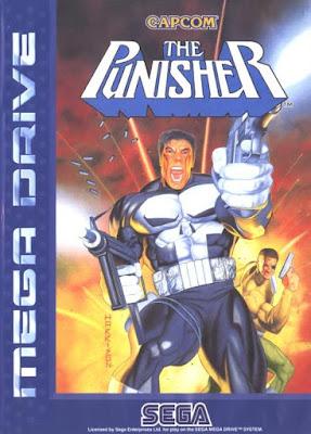 Rom de The Punisher - Mega Drive - PT-BR