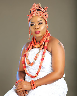 Actress Funke Etti 40th birthday photos