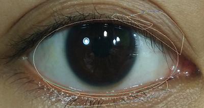 Cara Membuat Foto Vektor Bagian Latar Putihan Mata Dengan Photoshop