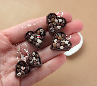 Chocolate Pralines Jewelry