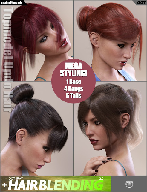 Topmodel Bundle for Genesis 3 Female