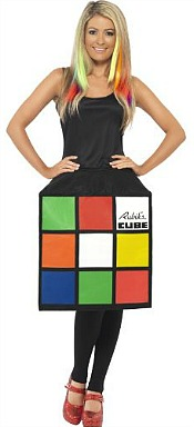 Rubiks Cube 3D dress for women