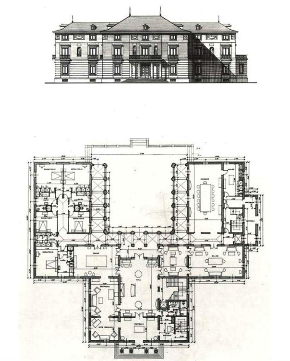 Pasi n por madrid el antiguo palacete de la moncloa 1 for Plantas de interior madrid