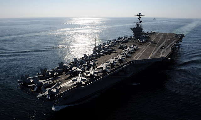 24h en un portaaviones americano (IV): el USS John C. Stennis CVN74
