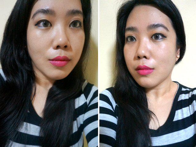 FOTD: Lip Swatch: NYX Soft Matte Lip Cream in Addis Ababa