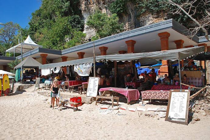 Restaurante en la playa
