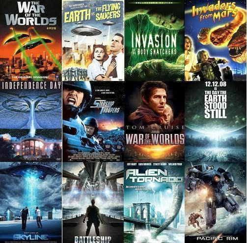 Idegen inváziós sci-fi filmek