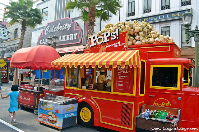 Food Stalls in Universal Studios Singapore