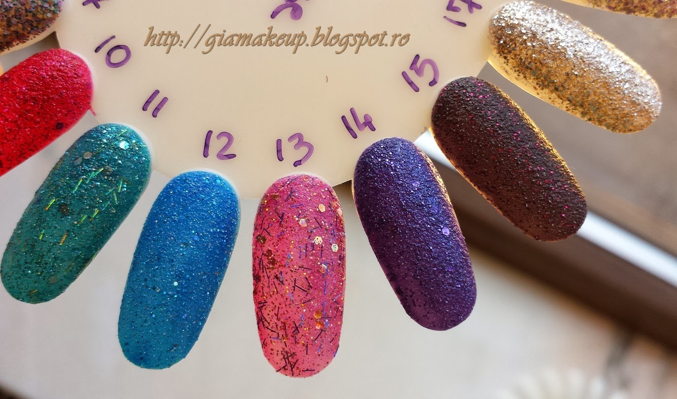 Gia Makeup Blog Golden Rose New Products Nail Lacquers
