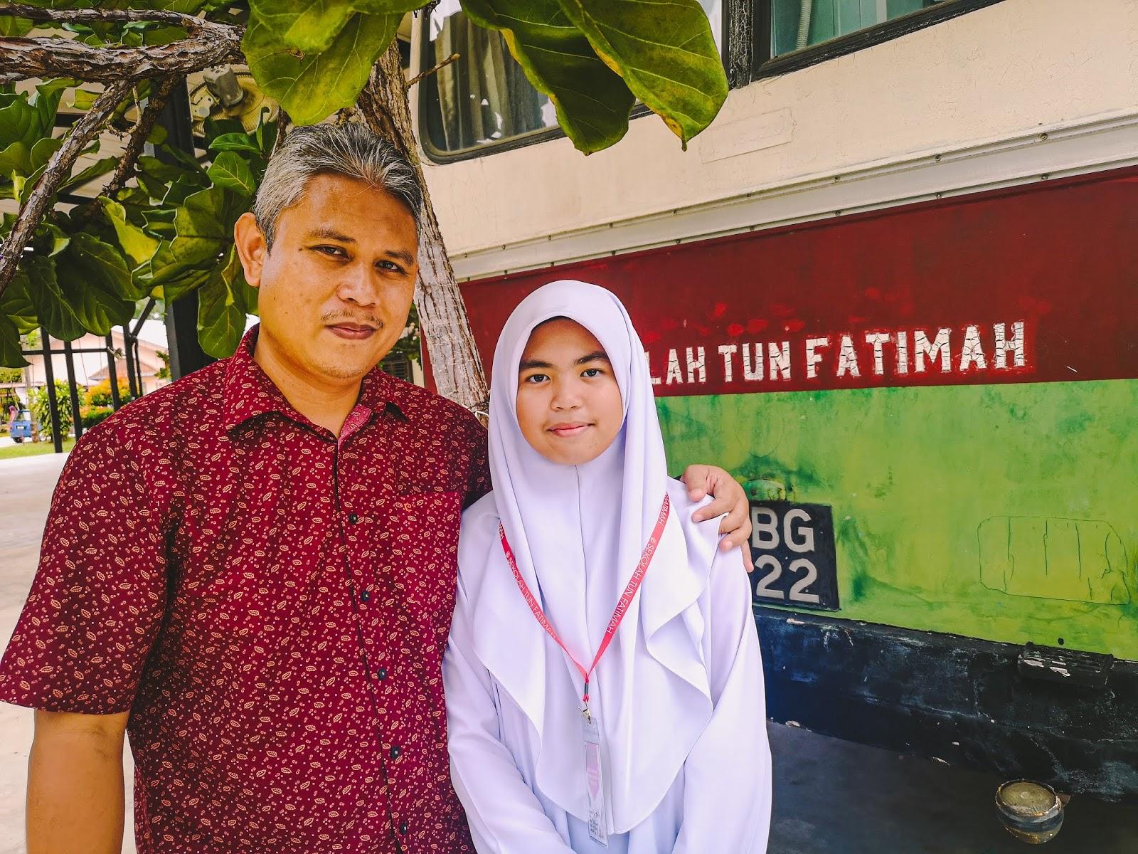 Hanis Ke Sekolah Tun Fatimah, Johor - 2