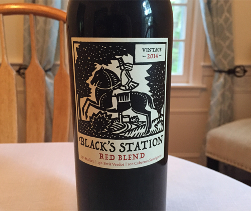 Black's Station Red Blend 2014