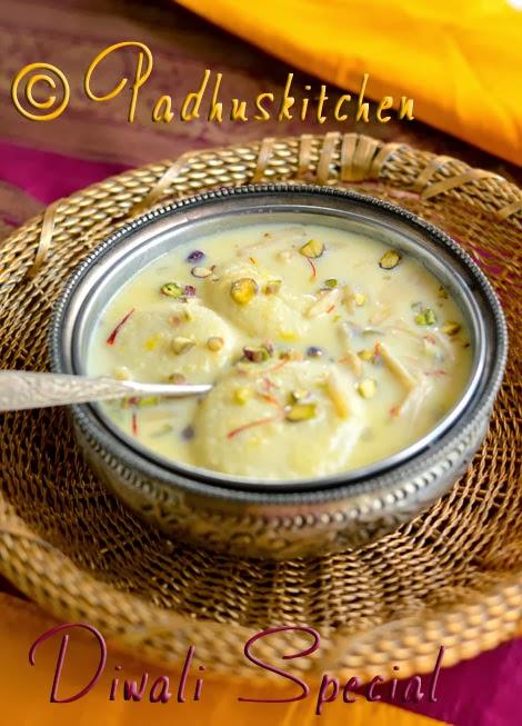 Rasmalai RecipeHow to make RasmalaiDiwali Sweets