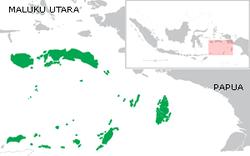 peta Pulau Maluku