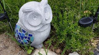 owl, landscaping, decoration, outdoor, outdoor decor, diy