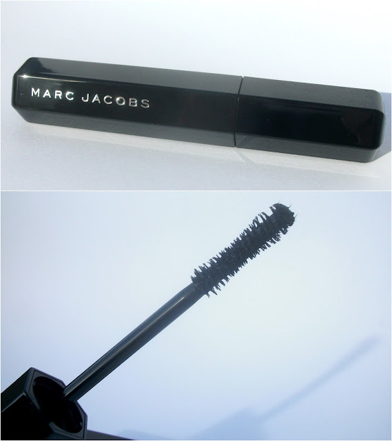 Marc Jacobs beauty, Velvet Noir Major Volume Mascara, wand detail
