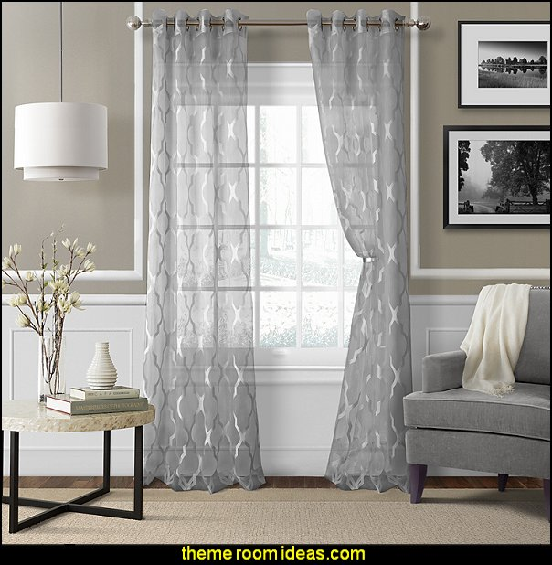 Sonata Single Curtain Panel  - window treatments - curtains - window decorations - sheers - Drapes & Valance Sets