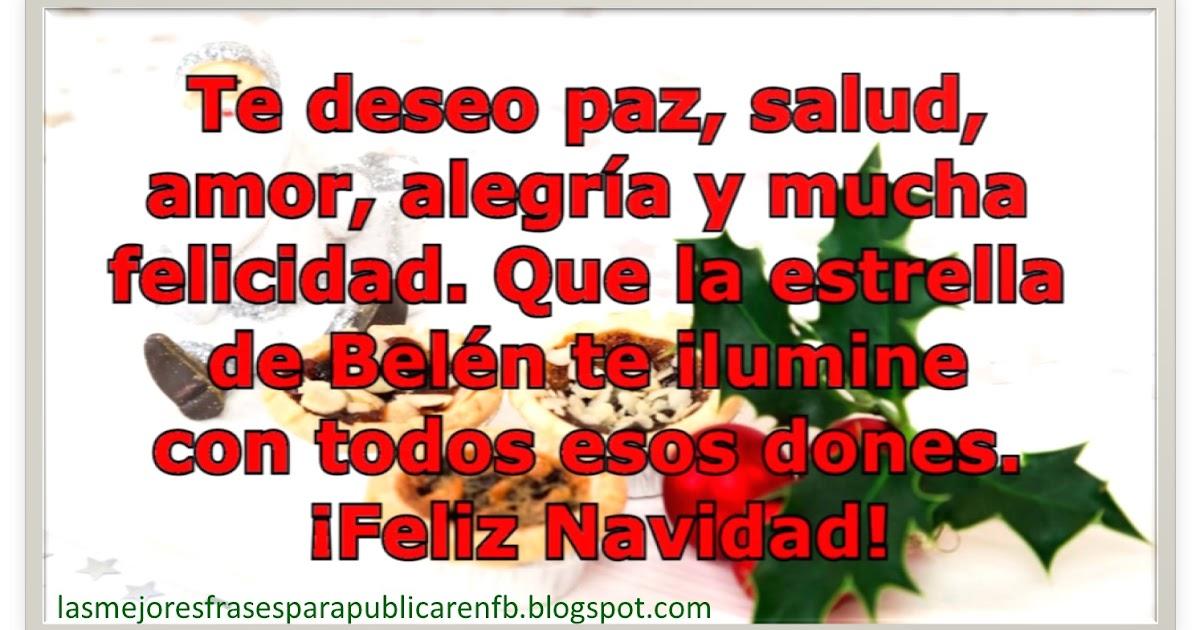 Las mejores frases para publicar en fb frases de navidad - Frases de felicitacion por navidad ...