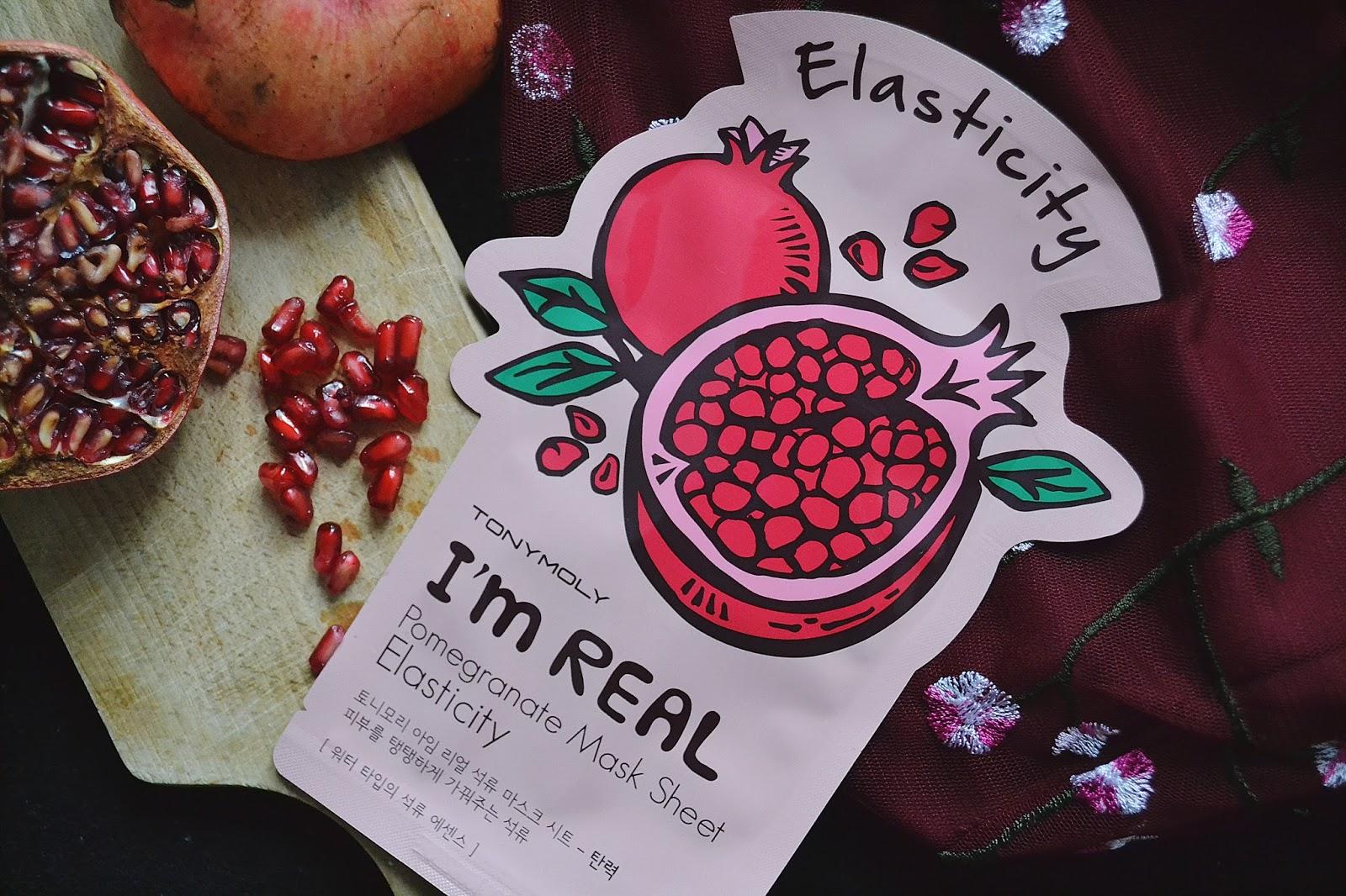 Tony Moly I'm Real, Pomegranate Mask Sheet